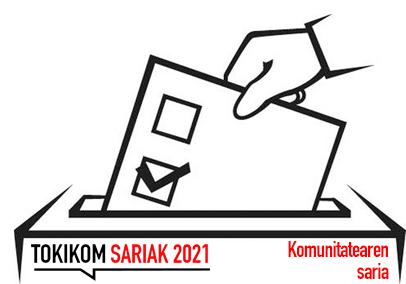 TOKIKOM Sariak 2021. Komunitatearen Saria bozkatzeko epea zabalik 1